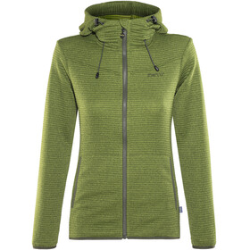 Meru Kalamata Jacket Women Green Striped